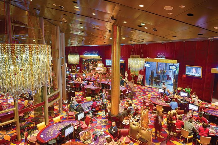An image of Larry Flynt's Hustler Casino