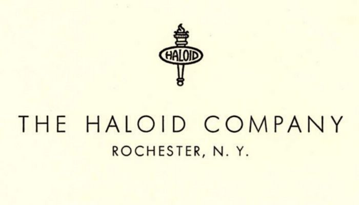 What business was known as The Haloid Company before it took the name of its most famous product