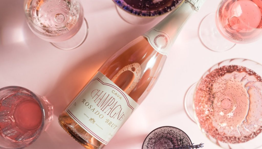 How much alcohol is in Champagne?
