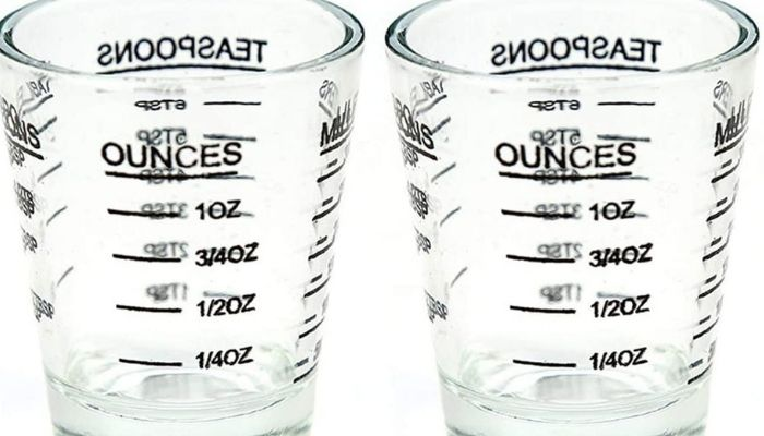 how many ounces in a shot glass