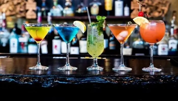 strong mixed drinks